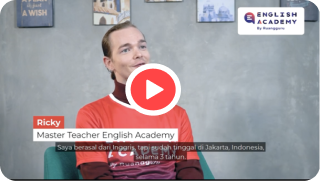 Foto Master Teacher English Academy Ricky